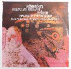 Schönberg: Pelleas and Melisande / Webern: Passacaglia LP (EX/EX) CZE