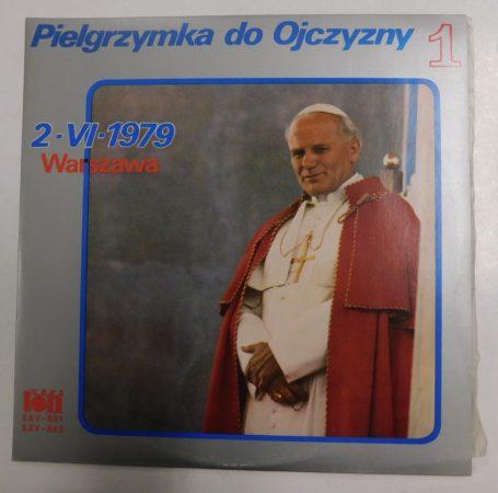 Pielgrzymka do Ojczyzny 1-2. 2xLP II. János Pál pápa (NM/VG+) POL