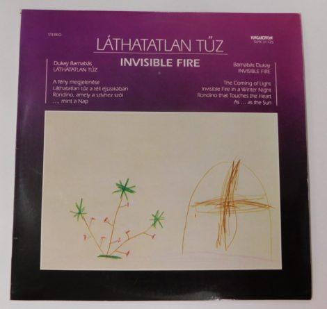 Dukay Barnabás - Láthatatlan Tűz / Invisible Fire LP (NM/EX)