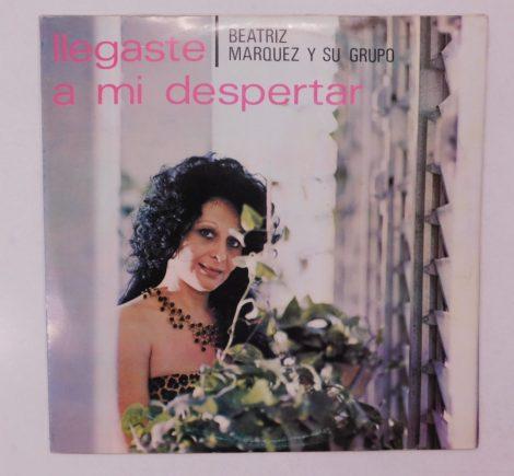 Beatriz Marquez Y Su Grupo - Llegaste A Mi Despertar LP (VG+/VG+) CUBA