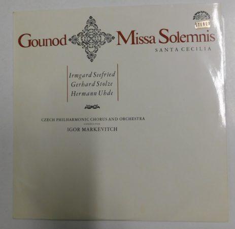Gounod - Missa Solemnis - Igor Markevitch LP (EX/EX) CZE