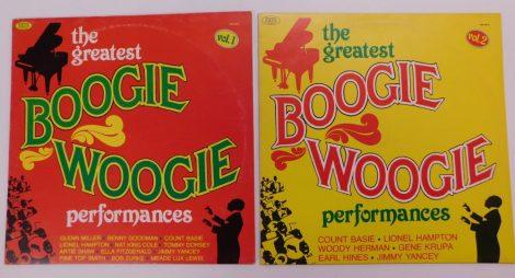 The Greatest Boogie Woogie Performances Vol. 1+2. 2xLP (VG+/VG)