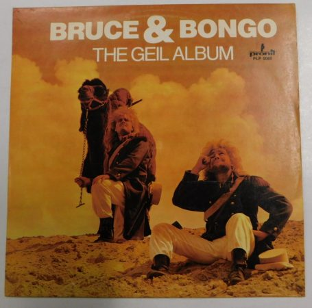 Bruce and Bongo: The Geil Album LP (NM/VG+) POL