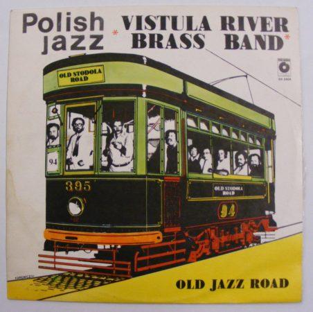 Vistula River Brass Band: Old Jazz Road LP (EX/EX) POL