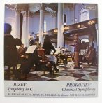 Bizet: Symphony in C / Prokofiev: Classical Symphony / Academy in the St. Martin-In-The-Fields /Marriner LP (VG+/EX) UK