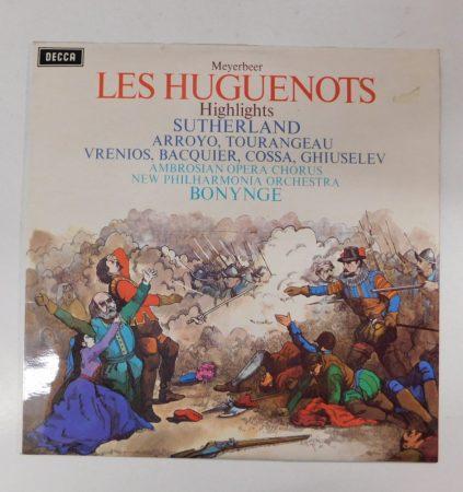 Les Huguenots - Highlights LP (NM/NM) UK.