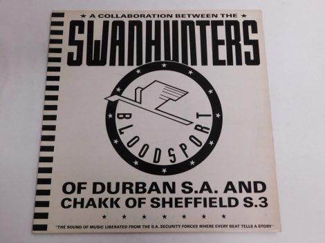 The Swanhunters With Chakk - Bloodsport (12 inch VG+/VG+) UK