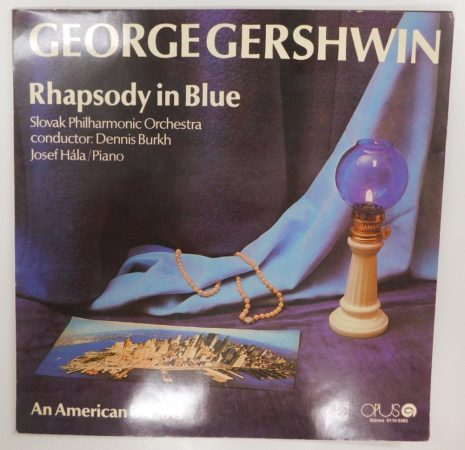 George Gershwin - Rhapsody In Blue LP (NM/VG+) CZE.