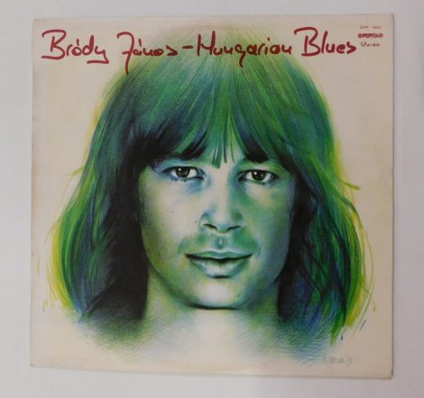 Bródy János - Hungarian Blues LP (VG+/VG)