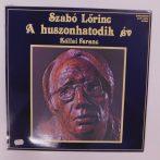 Szabó Lőrinc, Kállai Ferenc - A Huszonhatodik Év LP+inzert (VG+/EX)