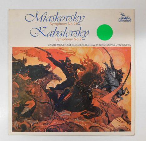 Miaskovsky/Kabalevsky - Symphony No.21/Symphony No.2 LP(VG/VG)