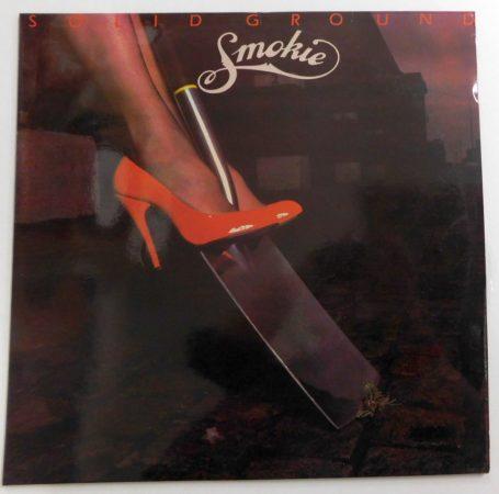 Smokie - Solid Ground LP (VG+/VG+) IND