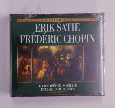 Chopin - Erik Satie - Gymnopédie, Socrate, Etudes, Nocturnes 2xCD ÚJ, Holland