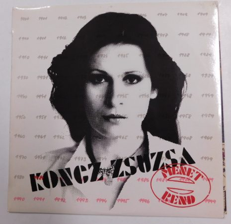 Koncz Zsuzsa - Menetrend LP (EX/NM)