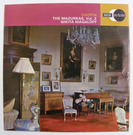 Chopin - Mazurkas Vol. 2 / Nikita Magaloff LP (VG+/VG+) UK