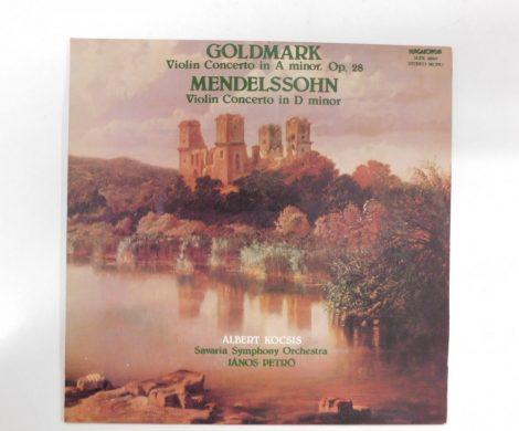 Goldmark,Mendelssohn-Violin Concerto In A Minor Op.28/In D Minor LP(VG+/EX)