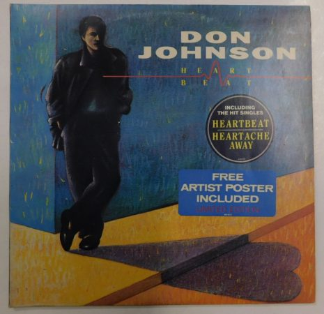 Don Johnson: Heartbeat LP (NM/VG+) JUG