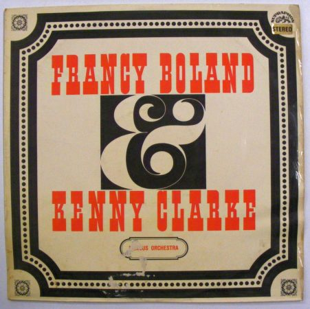 Francy Boland & Kenny Clarke Big Band - Famous Orchestra LP (EX/VG) CZE