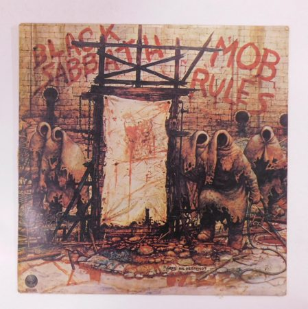 Black Sabbath - Mob Rules LP (VG+/G+) YUG.