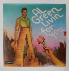 Al Green - Livin' For You LP (EX/EX) UK.