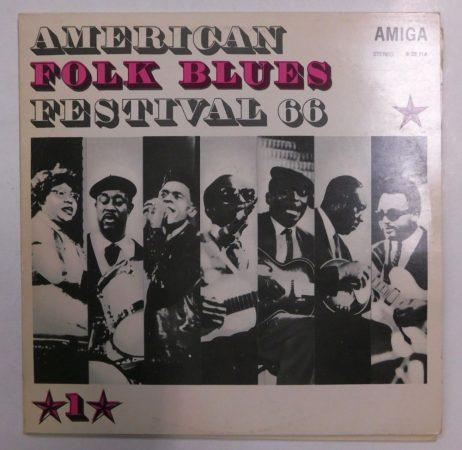 American Folk Blues Festival 66 I.-II. 2xLP (EX/VG+) GER.
