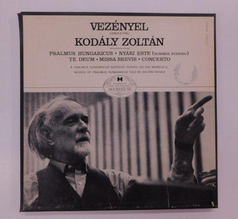 Kodály Zoltán - Psalmus Hungaricus - Nyári Este 3xLP (VG+/VG+) +booklet