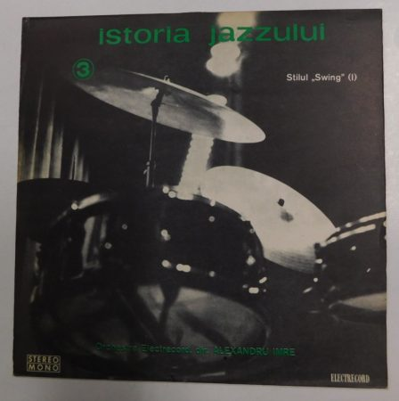 Istoria Jazzului 3 LP (NM/VG+) ROM