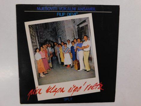 Mjesoviti Vokalni Ansambl - Piva Klapa Ispo' Volta LP (NM/VG+) YUG.