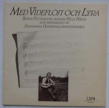 Med Videflöjt och Lyra LP - Björn Pettersson LP (EX/VG+) SVÉD