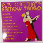 Václav Hybs Orchestra - Play To Me That Famous Tango LP (EX/EX) CZE