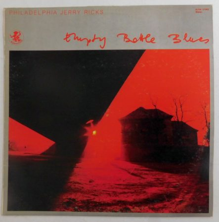 Philadelphia Jerry Ricks - Empty Bottle Blues LP (EX/VG+)