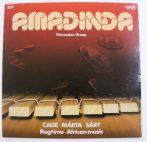 Amadinda - Ragtime - African Music LP (NM/VG+) Cage - Márta - Sáry