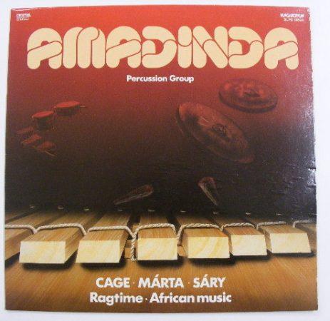 Amadinda - Ragtime / African Music LP (VG+/VG+) Cage - Márta - Sáry