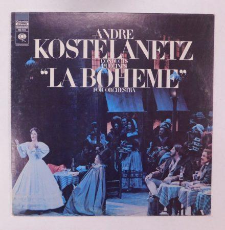 Puccini, André Kostelanetz - La Boheme For Orchestra LP (EX/VG) USA,1969