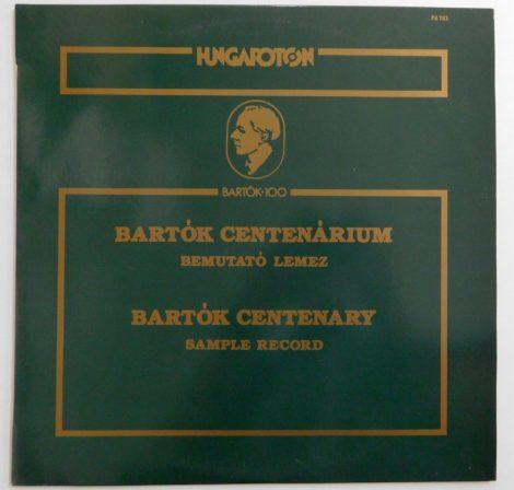 Bartók Centenárium Bemutató Lemez LP + inzert (VG+/VG+)