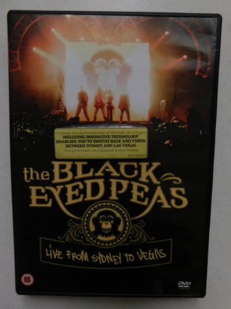 The Black Eyed Peas - Live from Sydney to Vegas DVD (NRB)