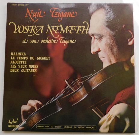 Nuit Tzigane - Yoska Nemeth et son Orchestre Tzigane 2LP (EX/EX) FRA