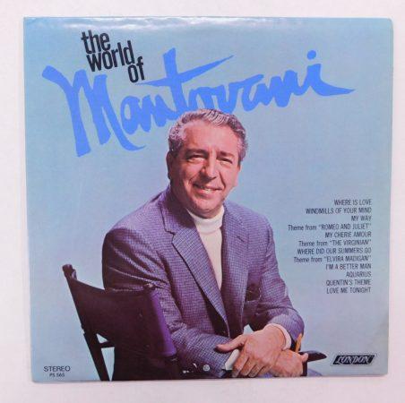 The World Of Mantovani LP (VG+/VG+) USA
