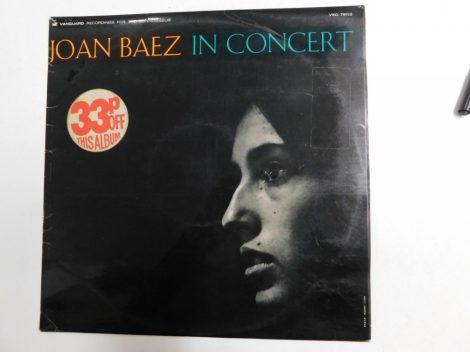 Joan Baez in Concert LP (VG+/VG) UK