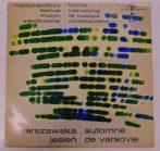 """W. Lutoslawski/B. Szabelski - Warszawska Jesien - Automne De Varsovie 10"""" (VG+/G+)POL."""