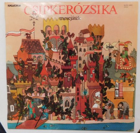 Csipkerózsika - mesejáték LP (VG+/VG+) HUN