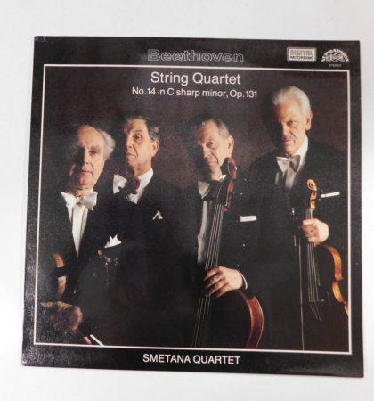 Beethoven-String Quartet No.14 In C Sharp Minor,Op.131 LP(VG+/EX)CZE.