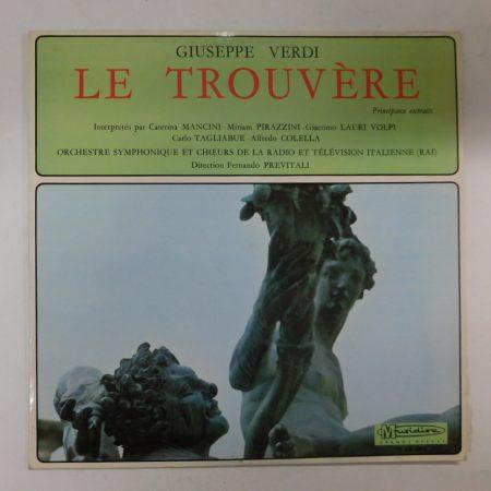 Giuseppe Verdi - Le Trouvère LP (EX/VG+) FRA.