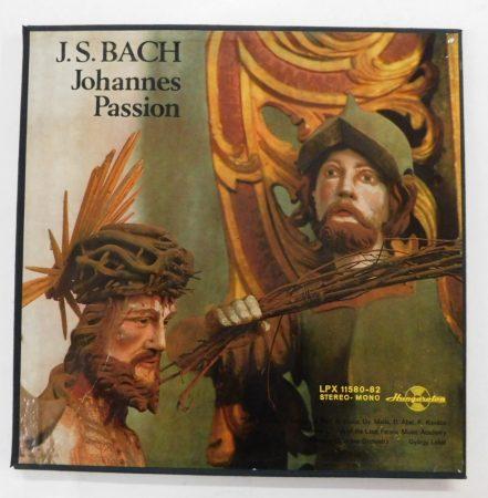 J.S. Bach - Johannes Passion 3xLP (NM/EX) HUN. +inzert