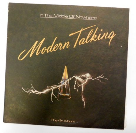 Modern Talking - In The Middle Of Nowhere - The 4th Album LP (EX/VG) BUL.