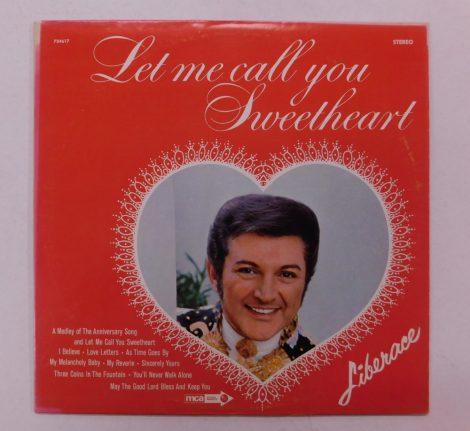 Liberace - Let Me Call You Sweetheart LP (VG+/VG+) USA