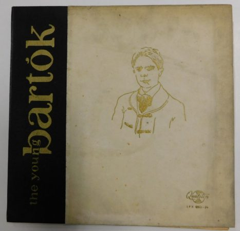 Bartók Béla - The Young Bartók LP 2xLP (VG+/VG)