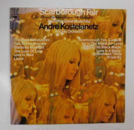 Scarborough Fair And Other Great Movie Hits LP (VG+/VG+) USA