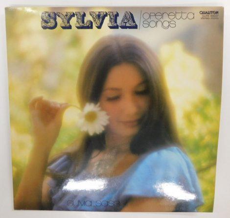 Sylvia Sass - Operetta Songs LP (NM/NM) HUN.