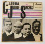 California Jubilee Singers LP (VG+/VG) GER.